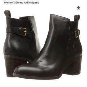 Ralph Lauren Black Leather Genna Bootie Size 8.5
